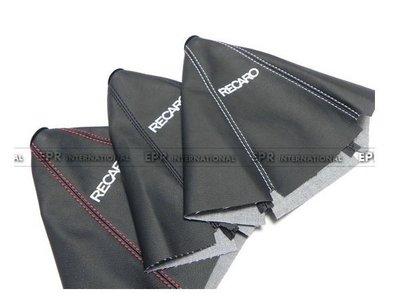RECARO字樣PVC材質手排自排排檔套排檔桿套E36E30MARCH K6K8GC8硬皮鯊