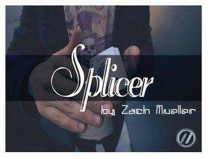 【意凡魔術小舖】Splicer(變牌+整副牌變白)(Zach Mueller)