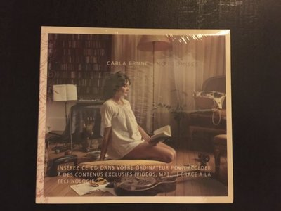 (全新未拆封)卡拉布妮 Carla Bruni - 無需承諾 No Promises(原裝精裝版CD)