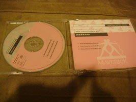 Madonna 瑪丹娜=單曲 Promo CD=What It Feels Like For a girl= Germany版