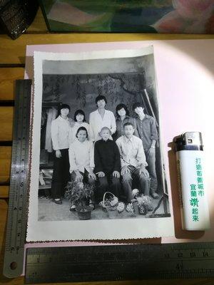 銘馨易拍重生網 PSS77 早期 民國40~50年代 家族情緣 長輩親友照 背說贈事 保存如圖(珍藏回憶) 讓藏