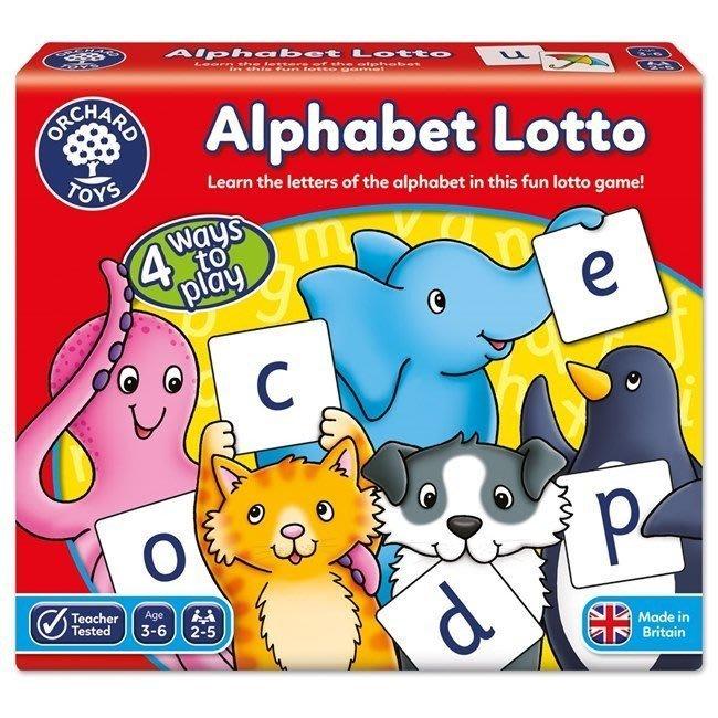 【兔寶寶部屋】Orchard Toys英國進口-幼兒學習英文配對遊戲 alphabet lotto