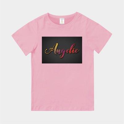 T365 MIT 親子裝 T恤 童裝 情侶裝 T-shirt 標語 話題 口號 美式風格 slogan Angelic