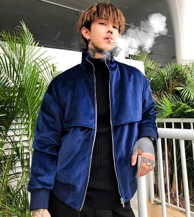 【NoComment】外套也有藍綠很有質感很少見的一款燈芯絨字母飛行夾克外套 MA1 Superdry