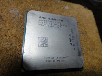 四核四線程 Athlon II X4 605e 節能CPU Socket AM3