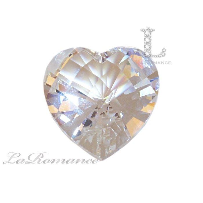 【芮洛蔓 La Romance】璀璨心型水晶鑽 – 白色(透明) / 鎮宅 / 避邪 / 擋煞 / 淨化負能量 / 求婚