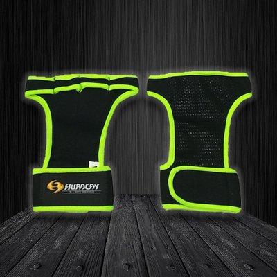 Huracan 颶風CrossFIT 專業健身手套_螢光綠