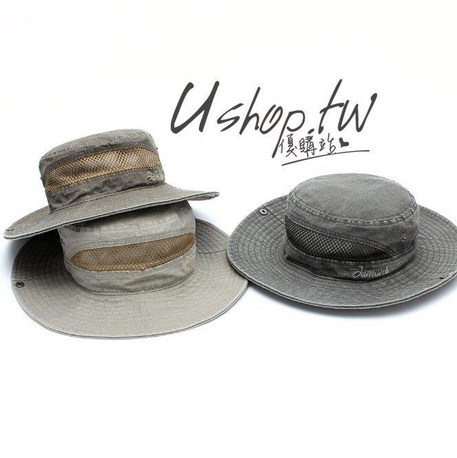 歐美透氣圓邊防曬可折疊漁夫帽