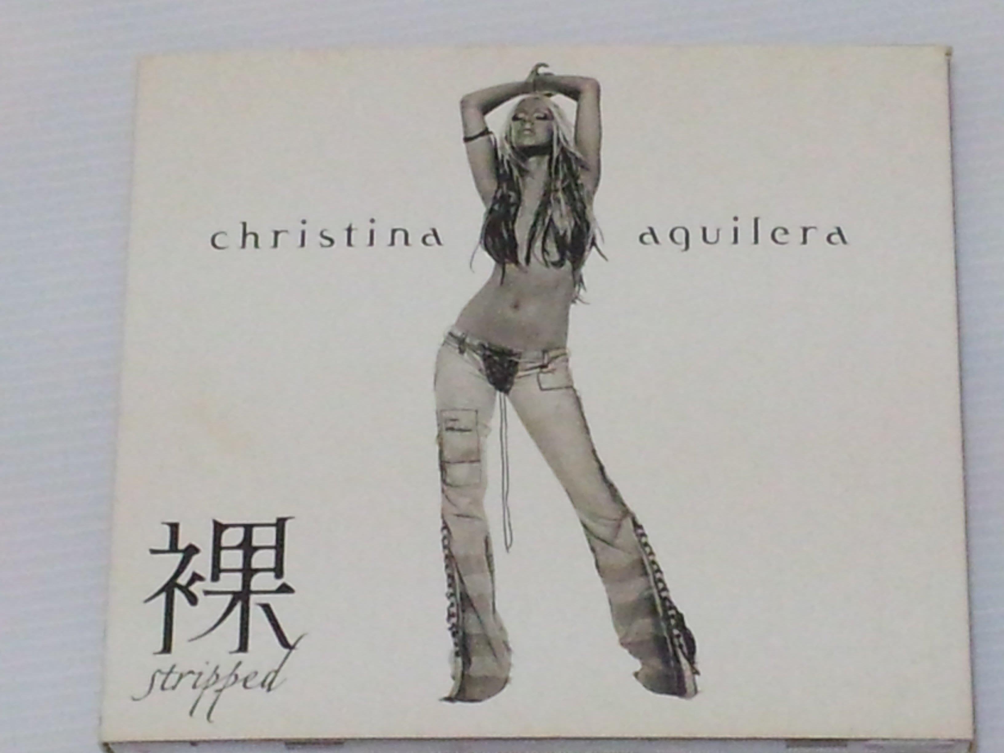 【開心屋】克莉絲汀  裸   CHRISTINA AGUILERA  STRIPPED 二手CD 保存完整