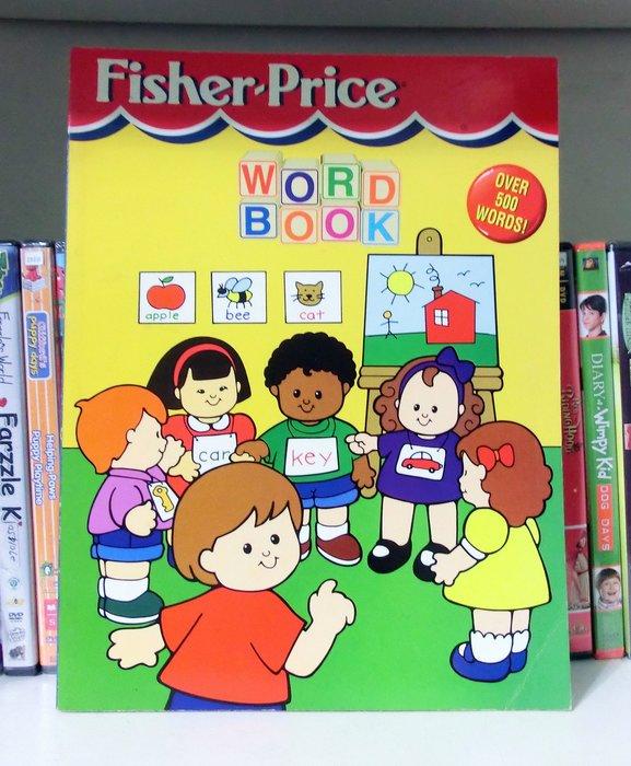 *【兒童英語工具書】*小pen~ Fisher-Price工具書~ Word book (over 500 words!