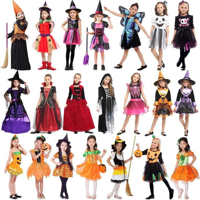 禧禧雜貨店-萬圣節兒童服裝女童小女巫cosplay服裝派對舞會演出服裝角色扮演#萬聖節道具#萬聖節裝飾#萬聖節服裝#萬聖