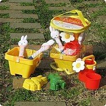 【橘白小舖】日本進口正版 Miffy 米飛兔 玩沙 玩具組 海邊 挖砂 挖沙 沙灘 洗澡 水桶 澆花器 海邊 鏟沙