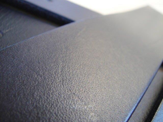 意大利 黑色 歐洲鞍革 植鞣革 皮帶3cm X113cm  厚0.4cm 皮條