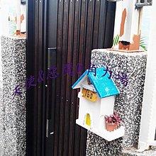 天使惡魔角力場 古典風 民宿大門 南方松子母門 不鏽鋼烤漆大門_手工訂製品