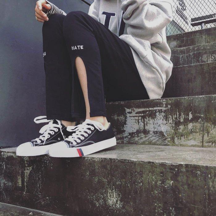小尤家~新款秋季復古帆布鞋女學生韓版布鞋原宿百搭平底ulzzang板鞋