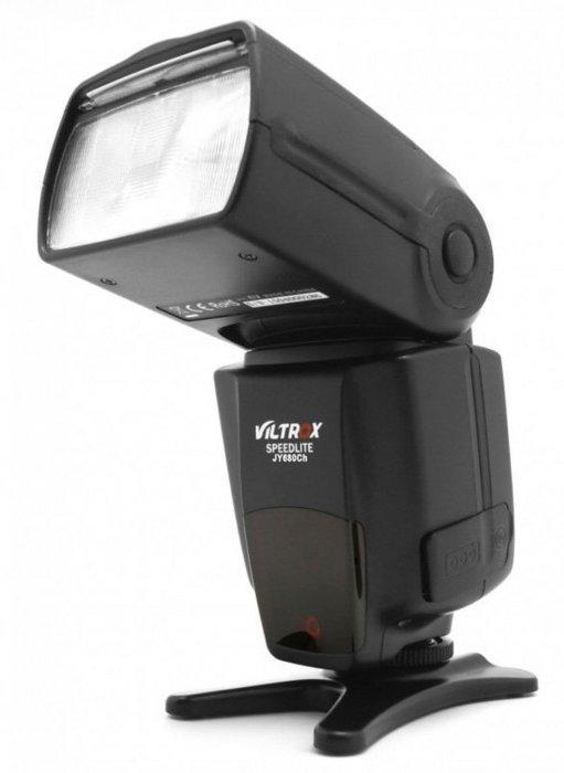 呈現攝影-Viltrox JY-680Ch TTL高速閃光燈 Canon用 ETTL 高速同步 從屬 光觸發 離機閃