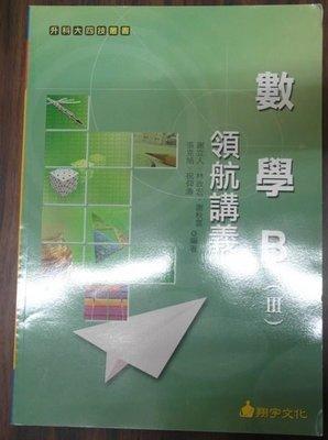數學B(III)領航講義/謝立人.林政宏等人/翔宇文化/ISBN9789867871688/全新