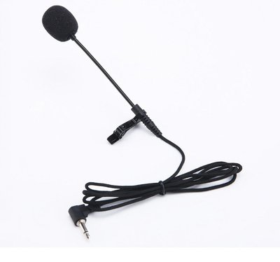 夾領式有線話筒夾麥可夾二胡樂器通用拾音有線領夾式麥克風  夢芭莎嚴選