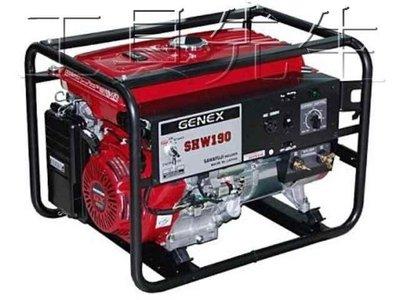 含稅價/SHW190*電動啟動*【工具先生】日本原裝 ELEMAX 澤藤 汽油引擎 電焊機 發電機 引擎電焊機 一機兩用