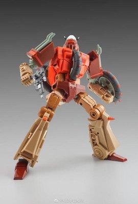 【全新現貨】KFC 垃圾星人 殘渣 再版 珠光粉材料 局部金屬漆 Phase 6E P6E Dregs 第三方 變形玩具