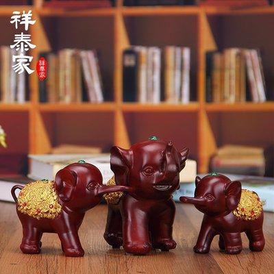 〖洋碼頭〗三只小象大象擺件歐式創意家居室內家裝飾品電視櫃酒櫃酒架房間 xtj122
