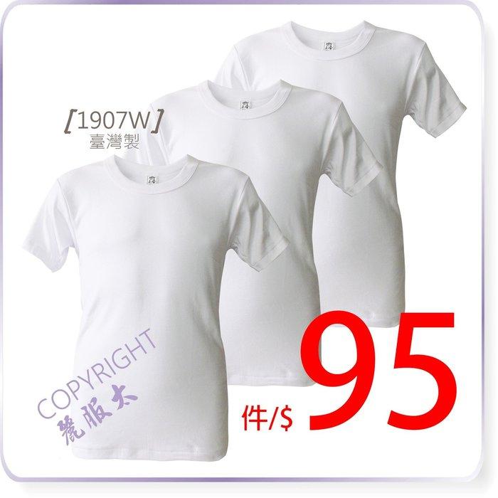 ∞麗服太∞1907-臺灣製純棉短袖T恤,一手3入$250*艋舺服飾商圈-品牌店家*