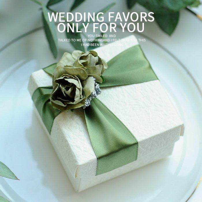 衣萊時尚-熱賣款  喜糖盒子 歐式創意結婚婚禮紙盒糖果盒婚慶用品韓版SA09