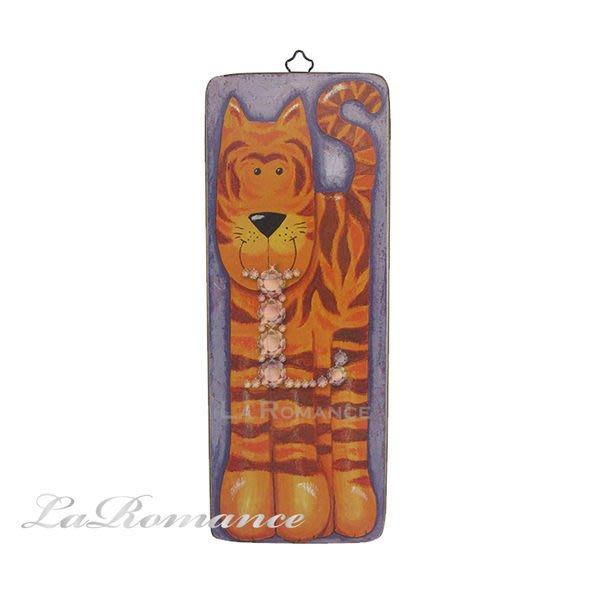 【芮洛蔓 La Romance】義大利 Dekor Toscana 兒童長型動物版畫 - 老虎 / 掛畫 / 壁畫 / 掛飾