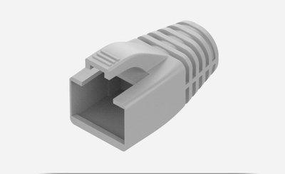 RJ45 水晶頭套 水晶頭護套 網路頭保護套 網路保護  適用CAT6A CAT7水晶頭 線徑8.5mm以下 藍色灰色