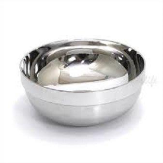 一鑫餐具【不銹鋼牛肉麵碗 304# 23CM】隔熱碗白鐵碗不銹鋼碗麵碗康健碗健康碗