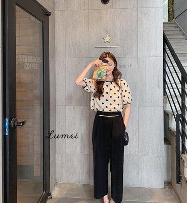 【LUMEI】珍奶配色 上廁所不用整件脫掉 懶人連身褲 長短款四款