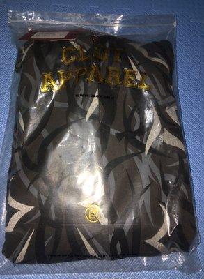CLOT BLACK EGRA  PARKA Jacket  黑 荊棘 連帽 外套 全新未試穿  L 號