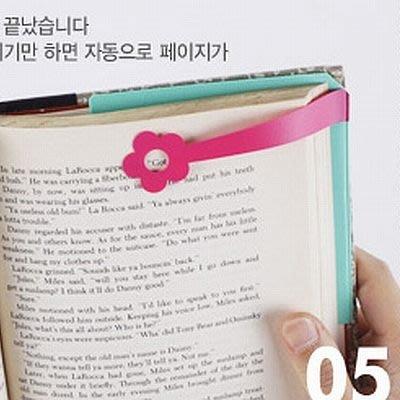 韓國文具【Cube生活雜貨】install marker標記書籤-桃紅花朵 標籤紙.便條紙.分頁貼紙
