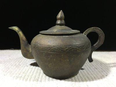 早期收藏古早文物-手工打造-青銅雕製品...