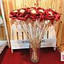 婚禮金莎花-婚禮小物 單隻金莎花棒1隻30元/含金莎,全省配送‧