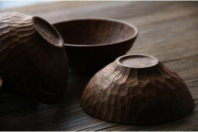 11b. 手製木餐具。HW11 *Turtle* 緬甸柚木 手作木碗