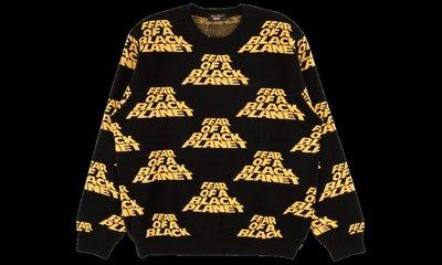 全新商品 Supreme Public Enemy Sweater LOGO 針織 毛衣 長袖TEE 黑色