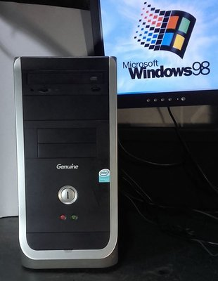 【窮人電腦】跑Win98系統!自組捷元工業主機出清!雙北桃園地區可親送!外縣可寄!