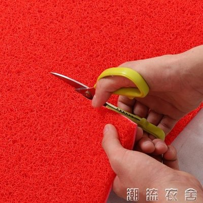 可裁剪絲圈地毯地墊進門門口入戶門廳客廳門墊加厚防滑pvc腳墊子YXS