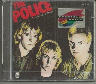 R西洋團(全新未拆CD)史汀Sting與警察合唱團~OUTLANDOS  DAMOUR~1978年AM