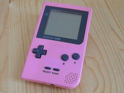 【小蕙館】電玩主機 ~ GAME BOY pocket (粉紅色) 再贈4款遊戲