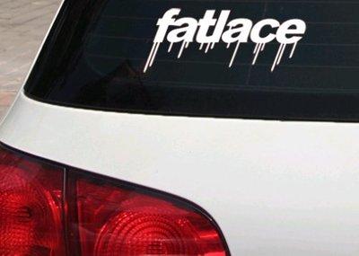 【小韻車材】HF 貼紙 車貼 hellaflush 車身貼 前擋 後窗貼 後檔 汽車改裝