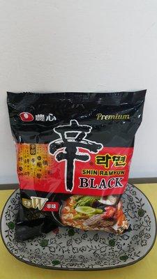 ~魔寶窩~韓國農心頂級黑色辛拉麵,江南大叔代言,香濃牛骨口味