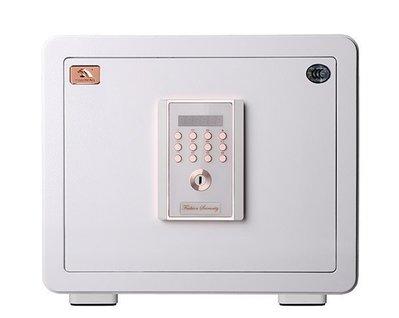 [弘瀚台中] 聚富保險箱 全館免運費 吉祥系列保險箱(35MWC)白 金庫/防盜/電子式/密碼鎖/保險櫃