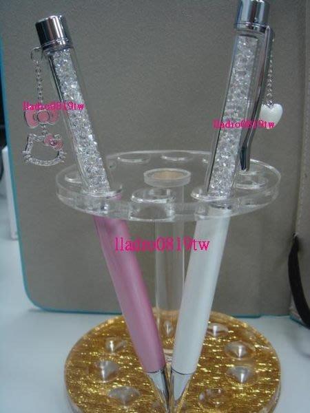 全新細桿(粉紅Hello Kitty 限定版)~施華洛世奇水晶筆 專櫃正品~(附台灣保卡+提袋) SWAROVSKI