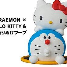 【動漫瘋】 日版 UDF 哆啦A夢 x 凱蒂貓 小叮噹 kitty 道具 穿透環 公仔