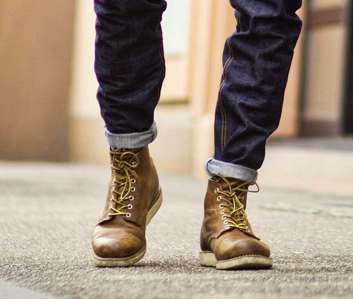 NYCT 韓國熱賣限定原創 高品質 歐美韓星百搭時尚必備手工9111阿美咔嘰美式複古大頭高幫機車工裝鞋男女真皮馬丁短靴潮