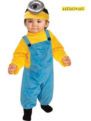 妍媽咪兒童禮服出租~小小兵史都華Minions兒童造型服 Halloween神偷奶爸萬聖節表演寫真攝影