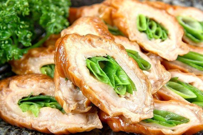【年菜系列】脆皮肥腸(有包蔥段.5條)/約600g±5%/包~ 輕鬆做料理 ~脆皮肥腸上桌