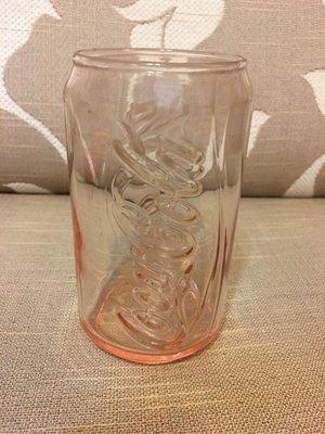 《瓶子控〉全新 2011年麥當勞 可口可樂(Coca Cola)  炫彩酷罐杯 玻璃杯 櫻桃紅
